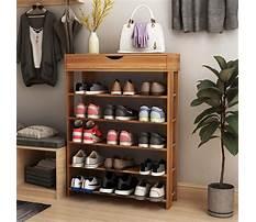 Wood shoe rack amazon Video