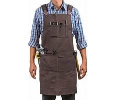Wood shop aprons Video