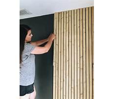 Wood slat wall diy.aspx Video