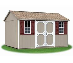 Wood storage shed aspx page Video