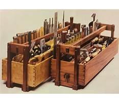 Wood tool box parts Video