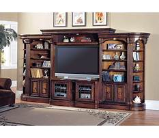 Wood wall entertainment units Video