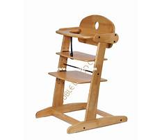 Wooden baby high chair designs Video