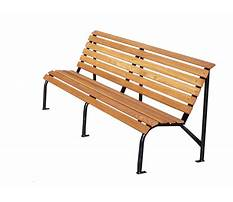 Wooden bench png Video