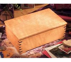 Wooden box plans free Video
