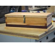 Wooden box projects plans Video