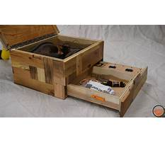 Wooden boxes with secret compartments Video