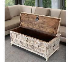 Wooden chest coffee tables Video