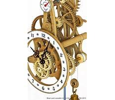 Wooden clock patterns free Video