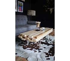 Wooden coffee table projects Video