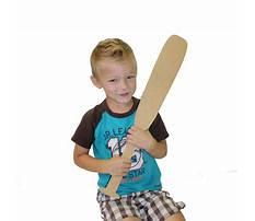 Wooden crafts to paint baseball bat Video