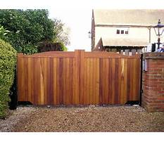 Wooden fence gate Video