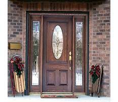 Wooden front door with glass panels.aspx Video