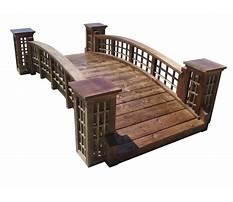 Wooden garden bridge.aspx Video