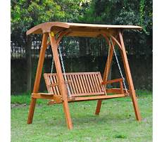Wooden garden swings ireland Video