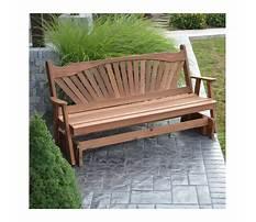 Wooden glider bench.aspx Video