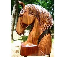 Wooden horse head Video