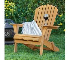 Wooden lawn chairs Video