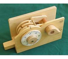 Wooden lock project Video