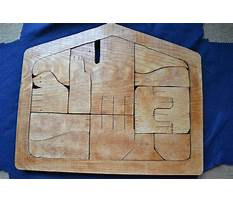Wooden nativity puzzle patterns Video