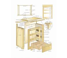 Wooden nightstand blueprints Video