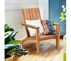 Wooden outdoor chair designs Video