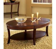 Wooden oval coffee tables Video