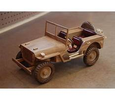 Wooden patterns for military vehicles Video