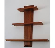 Wooden patterns for shelves Video