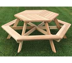 Wooden picnic table plans wooden posts Video