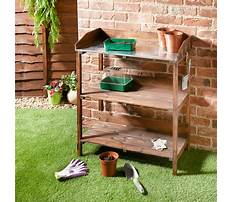 Wooden potting bench b&q Video