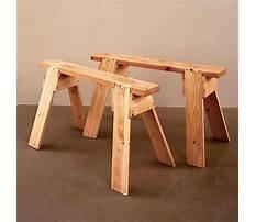 Wooden sawhorse aspx format Video