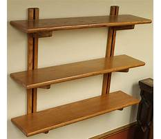 Wooden shelves amazon Video
