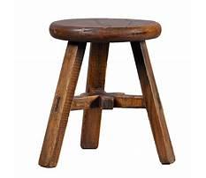 Wooden short stool Video