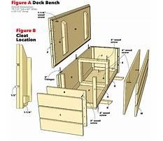 Wooden storage bench plans free Video
