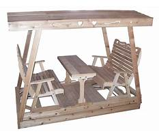 Wooden swing bench plans.aspx Video