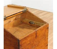 Wooden toy box with lid Video