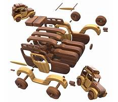 Wooden toy cart plans Video