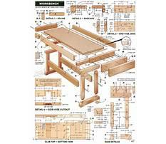 Woodshop bench plans Video