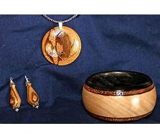 Woodturning projects jewelry Video