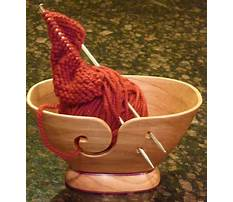 Woodturning projects yarn bowl Video