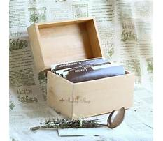 Woodworking boxes ideas build a wooden recipe box great woodworking gift idea Video