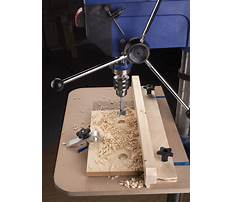 Woodworking drill press requirements Video