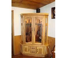 Woodworking ideas gun cabinet Video