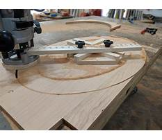 Woodworking oval jig Video