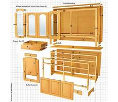 Woodworking plans dining room hutch Video