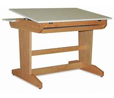 Woodworking plans for drafting table Video
