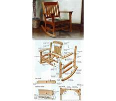 Woodworking plans for rocking chair free Video