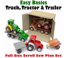 Woodworking plans for toy cars and tractors Video
