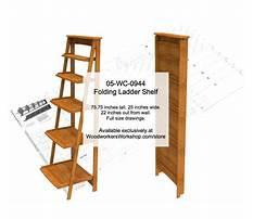 Woodworking plans ladder shelf.aspx Video